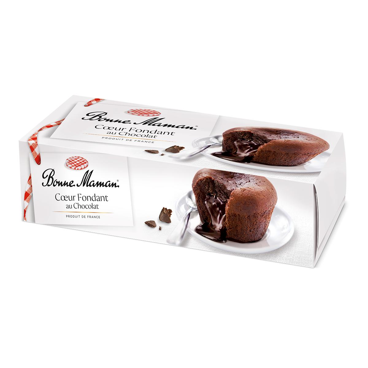 Schokoladenkuchen Mit Flussigem Herz 2 X 80 G Desserts Desserts