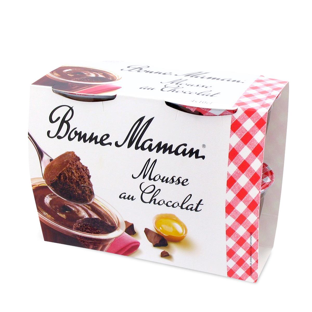 c ur fondant au chocolat 2 x 80 g desserts desserts les produits bonne maman suisse. Black Bedroom Furniture Sets. Home Design Ideas
